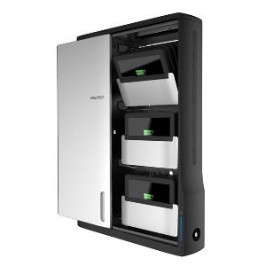 ergotron charging wall cabinet