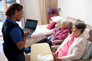 Tablet PCs aged care wireless
